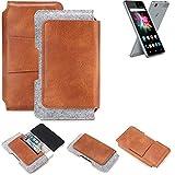 K-S-Trade Belt bag holster for Allview X3 Soul Mini Sleeve
