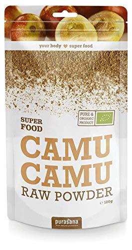 Purasana - Super Food - 100g - Végétarienne - Supplément 100% naturel - Camu Camu Pulver