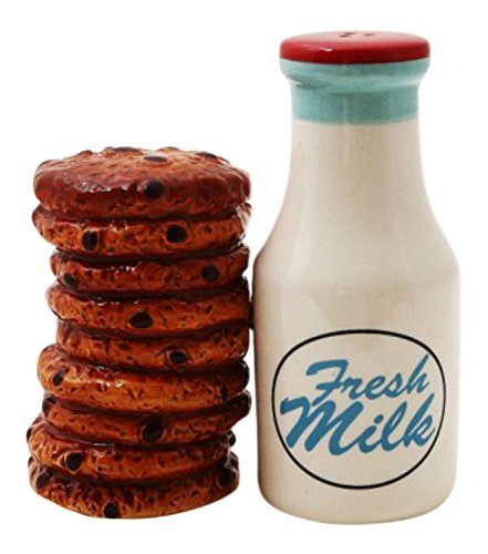 Milk and Cookies Lover Salt and Pepper Shakers