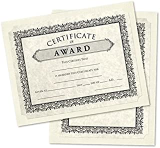 9 1/2 x 12 Single Certificate Holders - Natural Linen (25 Qty.) | Perfect for Award Recognition, Certificates, Documents and More! | SCH-NLI-25