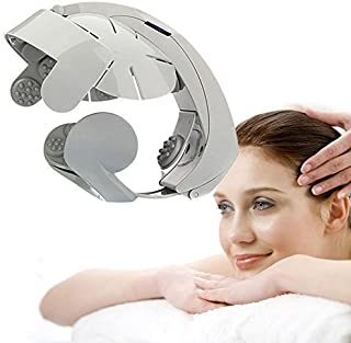 UNIQUE ICON Automatic Vibrating, Relaxing Head Spa Massager Brain Massage Relax Easy Acupuncture Point