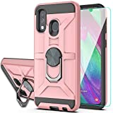 YmhxcY Case For Galaxy A40 with HD Screen Protector,360