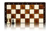 Bellissimo set di scacchi MAGNETICO in legno, gioco di scacchi con figure magnetizzate, gioco classico artigianale ... (medio 28 cm) #7