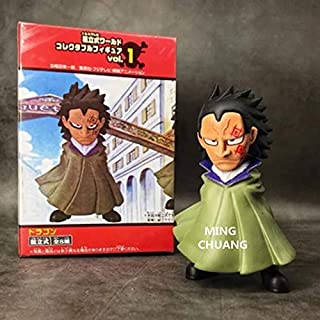 hvc ONE Piece The Straw Hat Pirates Monkey D. Luffy Father Monkey.D.Dragon PVC Action Figure Collectible Model Toy 13CM Box D807