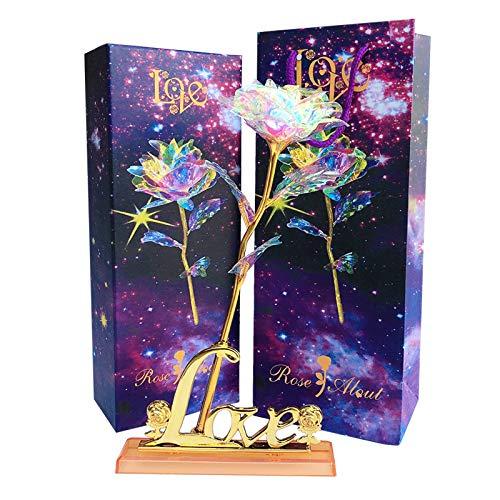 Ysislybin Rosa de oro de 24 quilates, oro rosa de 24 quilates,...