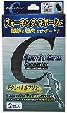 テルコーポレーション スポーツギア ウォーキングサポーター リスト用 ブラック(フリーサイズ*2枚入)