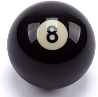 """GSE Games & Sports Expert Regulation Size 2-1/4"""" Billiard #8 or Pool Cue Ball"""