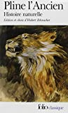 Histoire naturelle by Pline l'Ancien (1999-04-02) - Folio - 02/04/1999