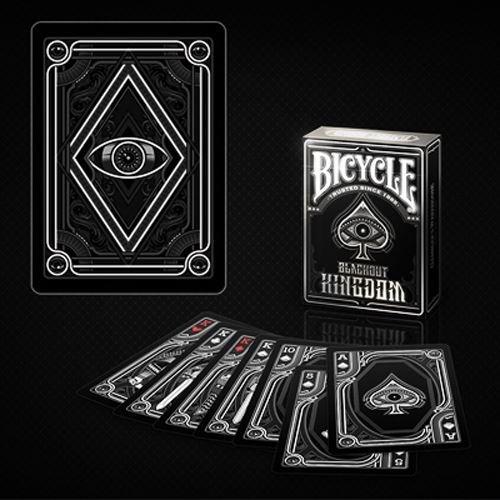 Gamblers Warehouse Bicycle Poker - Blackout Kingdom