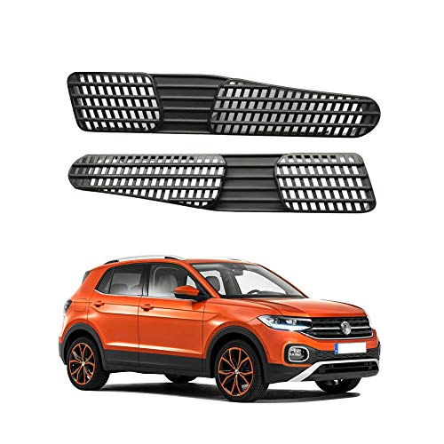 LFOTPP Auto Air Vent-afdekking voor nieuwe Polo MK6 AW1 GTI achterbank airconditioning Outlet Cover [2 stuks]