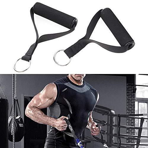 Ltong Weerstandsbandset met deurankerEnkelband voor gewichtheffen Yoga Pilates Oefening Stretch Fitness Gym