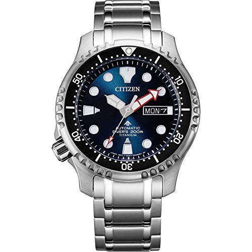 Citizen Men's Promaster Marine Analogue Automatic Watch NY0100-50ME