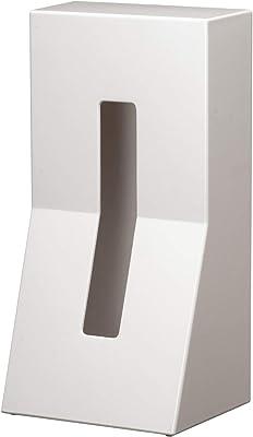 ティッシュボックス ホワイト STAND! ABSDU0025WH