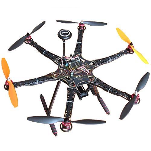 Hobbypower DIY S550 Hexacopter Frame with APM2.8 Flight Controller 7M GPS + HP2212 920KV Brushless Motor & Simonk 30A ESC