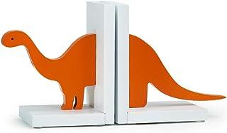 XBR Ny bokstöd dinosauriemönster kreativt barnrum bokstöd prydnad, bokorganiserare trä bokstöd för barn bibliotek skrivbor...