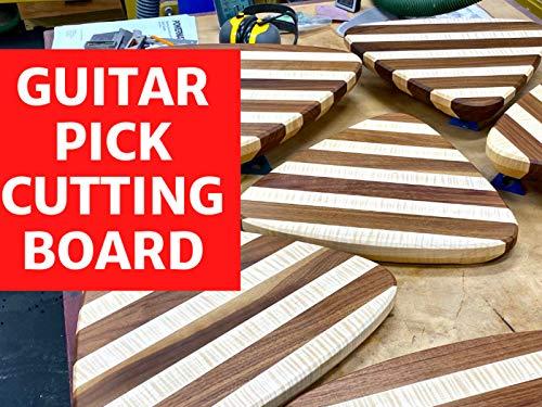 Guitar Pick Cutting Board