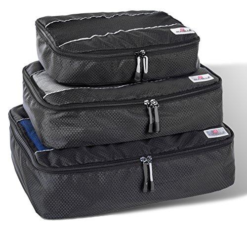 Suvelle Organizer per valigie Nero nero