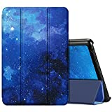 Fintie Case for All-New Amazon Fire HD 10 and Fire HD 10 Plus Tablet (Only Compatible with 11th Generation 2021 Release) - Ultra Lightweight Slim Shell Stand Cover Auto Wake/Sleep, Starry Sky