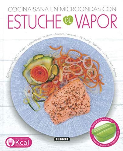 Cocina sana en microondas con Estuche De Vapor (El Rincón Del Paladar)