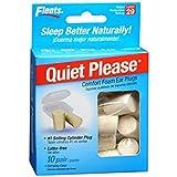 Flents Quiet! Please Foam Ear Plugs - 10 Pair Per Package Pack of 4