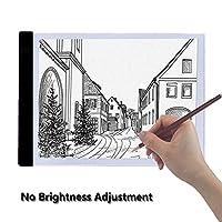 DC5V A4 LED Artist Tattoo Stencil Board Light Box USB Night Light Lamp Acrylic Tracing Drawing Board Pad Table