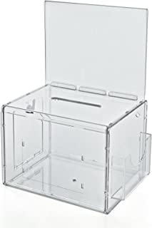 acrylic registration boxes