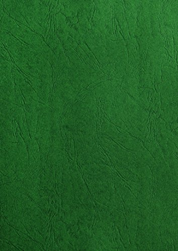 Pavo Einbanddeckel-Lederoptik DIN A4, 250 g/m², 100-er Pack, dunkelgrün