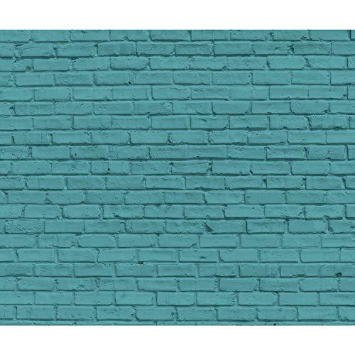 decomonkey Fototapete Steinwand Stein 350x256 cm XXL Design Tapete Fototapeten Tapeten Wandtapete moderne Wand Schlafzimmer Wohnzimmer Steinoptik