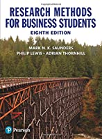 Research Methods For Business Students, 8th Edition Front Cover