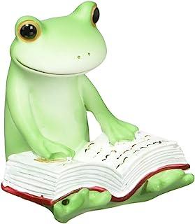ダイカイ Copeau(コポー) 本読むカエル 3.8×3.9×4.3cm 71734