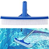 <span class='highlight'><span class='highlight'>BETOY</span></span> Pool Brush, Plastic Pool Brushes Swimming Pool Cleaning Brush Head Easy to use Pool Brush Head for Cleaning Dirt Moss of Swimming Pool Pond, Spa, Hot Spring, Tubs, Walls, Tile, Floors,25x4.5cm