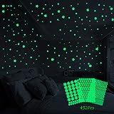 Sooair 452 Leuchtsterne aufkleber
