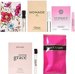 女性用 Eau de Parfum/Eau de Toilette, for Women Samples 5/set [海外直送品] [並行輸入品]