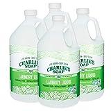 Charlie's Soap Laundry Liquid (160 Loads, 4 Pack) Natural Deep...