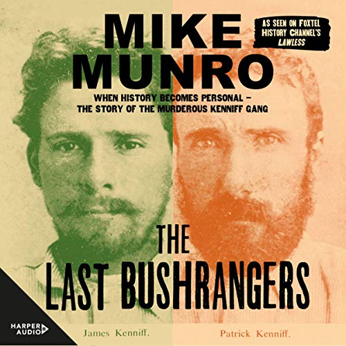 The Last Bushrangers audiobook cover art