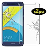 ebestStar - [2 Pack kompatibel mit Huawei Honor 6C Pro Panzerglas Schutzfolie Glas, Schutzglas Bildschirmschutz, Bildschirmschutzfolie 9H gehärtes Glas [Phone: 147.9 x 73.2 x 7.7mm, 5.2'']