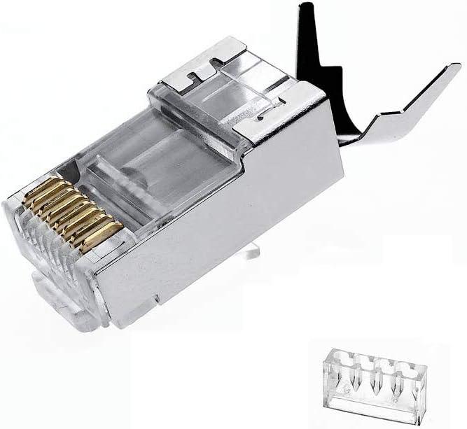 VIVOCH 50 Pcs Cat7 Connectors 2-Piec Plugs Mesa Mall Ranking TOP11 RJ45