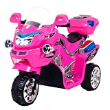 Ride on Toy, 3 Wheel Motorcycle for Kids, Battery Powered Ride On Toy by Lil' Rider – Ride on Toys for Boys and Girls, 2 - 5 Year Old - Pink FX