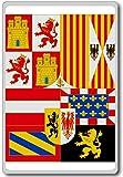 House Of Austria (1668-1700), Historic Flags of Spain fridge magnet