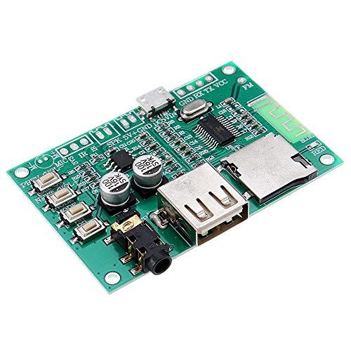 LICHONGUI 3 unids BT201 Modo Dual 5.0 Bluetooth Audio Audio Audio Audio AUMPIFICADOR MÓDULO TF TARD U Disco BLE SPP Puerto Serial Transparente