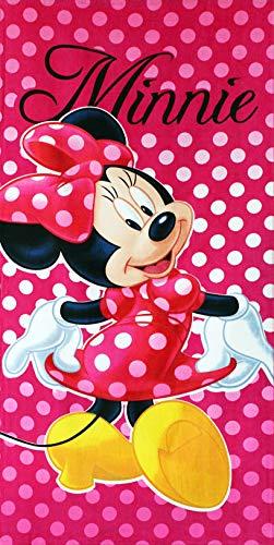 Minnie Maus Disney Strandtuch Badetuch 70 x 140cm -88
