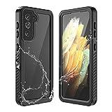 """Custodia Impermeabile per Samsung Galaxy S21, IP68 Protettivo Waterproof Cover Case Impermeabile con Toccare Responsive / Pellicola Protettiva (Galaxy S21 6.2"""")"""
