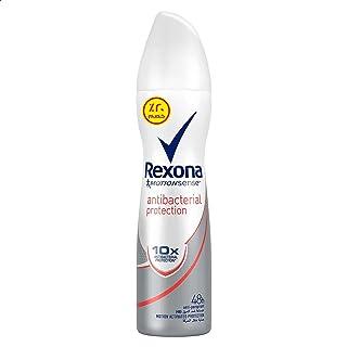 Rexona Deodorant and Antiperspirant Spray Anti Bacterial Protection for Women, 150 ml