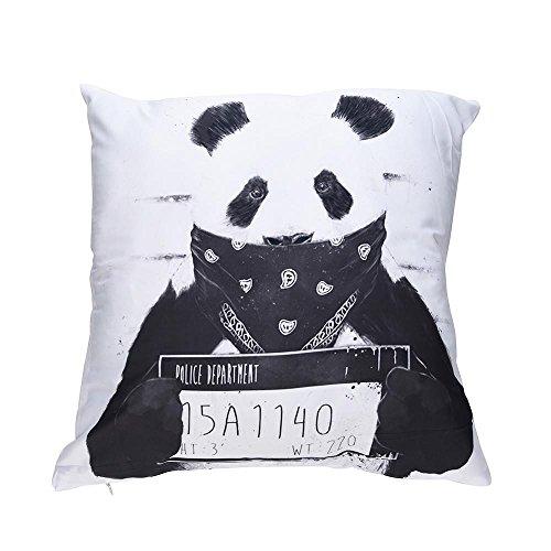 VJGOAL Encantador Animal de impresión Funda de Almohada Suave comfoatable sofá Coche Cuadrado Funda de cojín decoración para el hogar extraíble y Lavable(45_x_45_cm,Multicolor7)