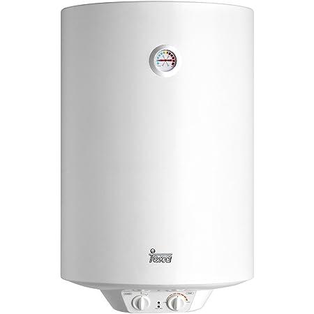 Teka 42080080 Termo Eléctrico   1500 W   80 L   Blanco   Clase de eficiencia energética D   Modelo Ewh80   Tanque esmaltado   Resistencia Ceramica   Termostato Temperatura 30-75º