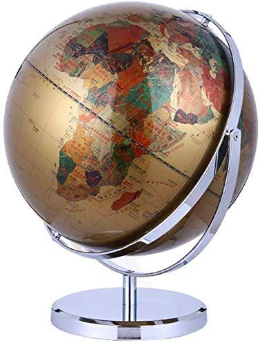 WYZXR Floating Globe HD Vintage große Tischplatte rotierende geografische Karte Globus Dekoration Office Decoration-12 Zoll