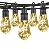 Outdoor Lights String,Patio Golbe Lights 10 Bulbs 29 FT UL Listed Backyard Shatterproof Hanging Lights Waterproof for Wedding Party BBQ Decor,Warm White