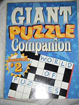 Unknown Binding Giant Puzzle Companion: Crosswords #2 Book
