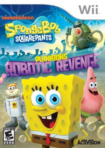 SpongeBob SquarePants: Plankton's Robotic Revenge (Nintendo Wii) by SpongeBob SquarePants