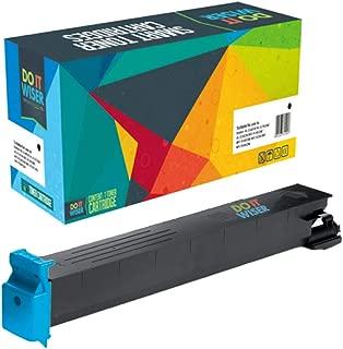 Do it Wiser Compatible Toner Cartridge Replacement for Konica Minolta BizHub C353 C253 C203 | TN213 TN213C (Cyan)